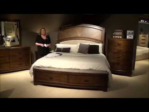 Avalon Storage Bedroom Set In Pebble Brown By Liberty Furniture