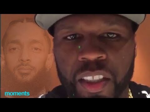 50 Cent FINALLY  Breaks Silence On Nipsey Hussle Death 'This Is Hard For Me, I Really Liked Nipsey'