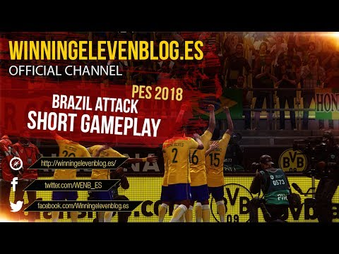 PES 2018 | BRAZIL ATTACK | SHORT GAMEPLAY