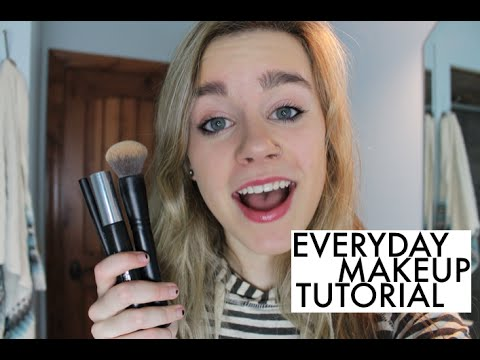 everyday makeup tutorial 2014  youtube