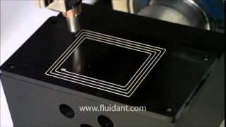 FluidANT NFC pattern printing