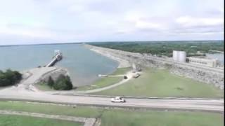 May 20 2015 Flood Lake Texoma Spill Way Denison Dam