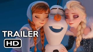 Olaf's Frozen Adventure Short Film Official Trailer #1 (2017) Animated Movie HD