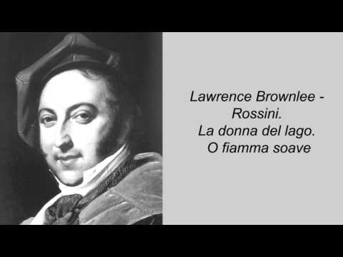 Lawrence Brownlee - Rossini. La donna del lago. O fiamma soave