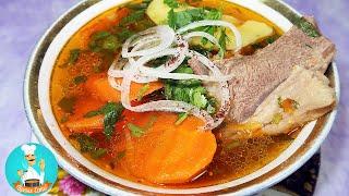 Шурпа узбекская из баранины - как приготовить суп в домашних условиях: классический пошаговый рецепт