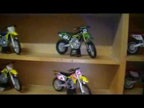 My Toy Dirt Bike Collection Youtube