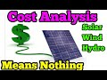 Cost Analysis Off Grid Power Worth It ?