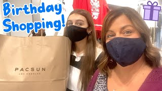 Birthday Present Shopping for Chase's 18th!