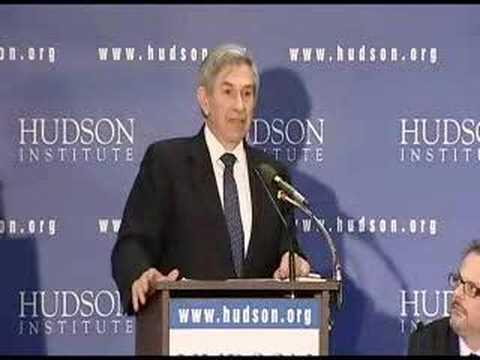 Paul Wolfowitz speaks at Hudson Institute