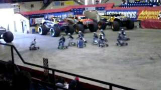 Monster Jam 2010 Saginaw Bar Stool Racing Clip