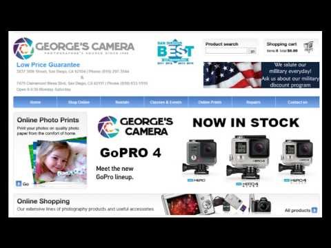 Close Up on San Diego Business Features Georges Camera