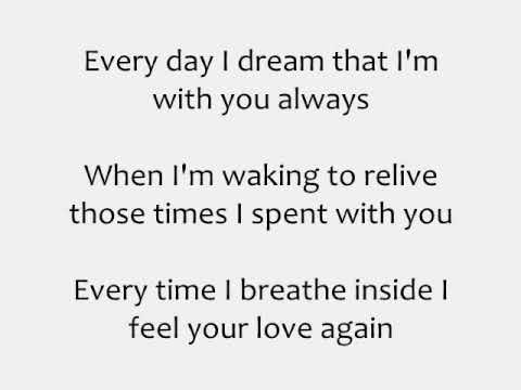 Клип Since October - Take My Breath Away