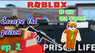 Roblox-Roleplay 1-Escape The Prison-Episode 2-IK ZIT VAST!!!!!!