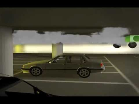 Nuaire Car Park Smoke Extract Simulation 3d Fly Through