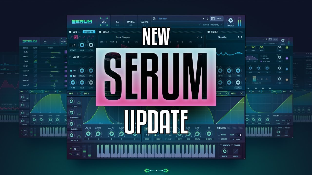 NEW Serum BETA version January 2019! Awesome new features!!