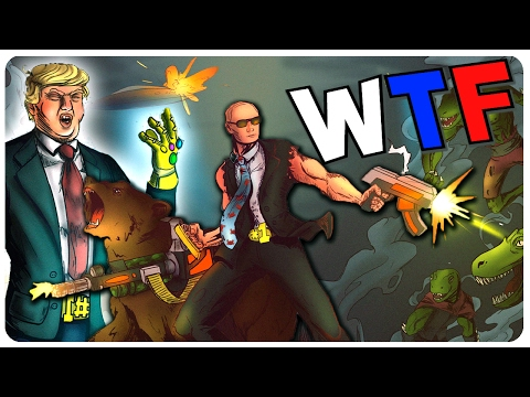 Not Putin and Not Trump Save The World?! ¯\_(ツ)_/¯ - Reptilians Must Die Gameplay