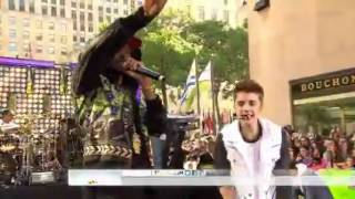 Justin Bieber & Big Sean - As Long As You Love Me (Live @ Today Show 2012)