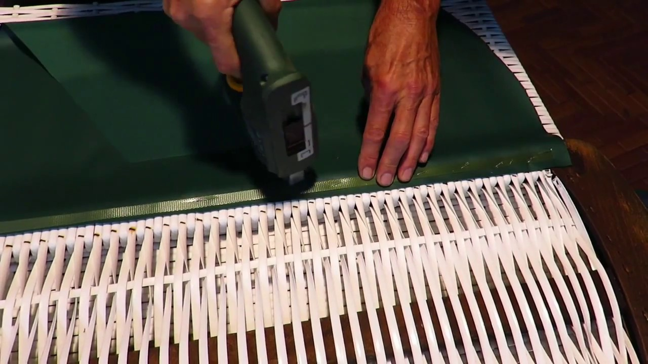 Attraktiv Markisenstoff Austauschen Referenz Von Strandkorb Restaurierung Teil 2
