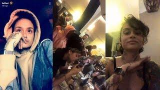Kehlani | Snapchat Story | 17 November 2017 w/ Girlfriend Shaina