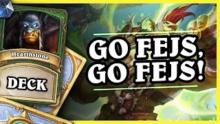 GO FEJS, GO FEJS! - ODD BEAST HUNTER - Hearthstone Deck (Rastakhan's Rumble)