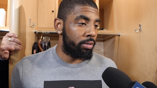 Kyrie Irving: 'We got a slice of some humble pie' on Game 3 loss to Celtics