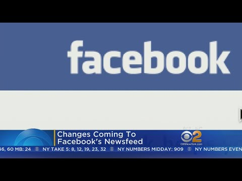 Big Changes Coming To Facebook's Newsfeed