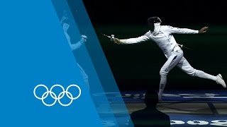 How to Epee with Fabian Kauter - Fencing guide | Faster Higher Stronger