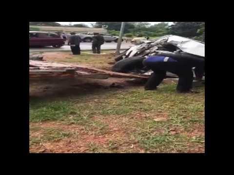 accident de route joseph kabila ?