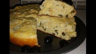 Греческий пирог с луком и сыром. Греческая кухня