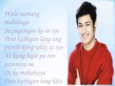 Pare Mahal Mo Raw Ako – Michael Pangilinan Lyrics