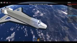 rociado parte de lanzamiento del transbordador espacial para la estación espacial.