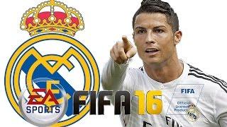FiFA16 | فيفا16 التميت تيم | تشكيلة ريال مدريد