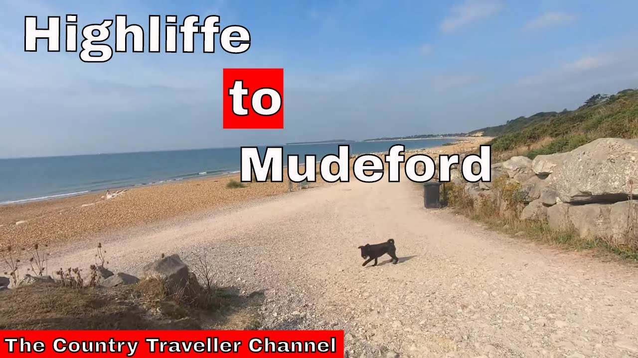 A walk from Highcliffe to Mudeford