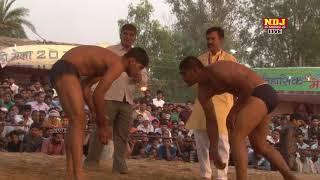 Barahi Mela Surajpur Greatar Noida 2018 # हरयाणवी देशी कुश्ती # Inami Dangal 2018 # NDJ Music thumbnail
