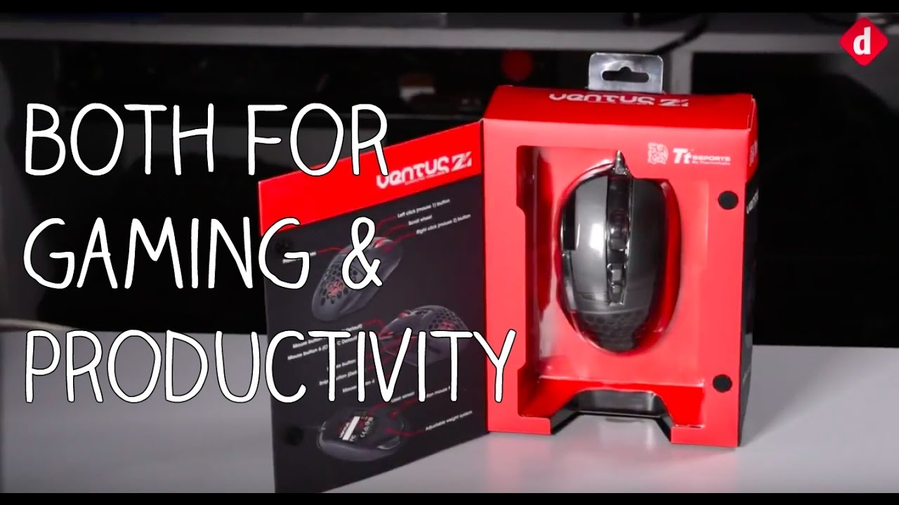 Tt eSports Ventus Z Gaming Mouse Review   Digit.in - YouTube