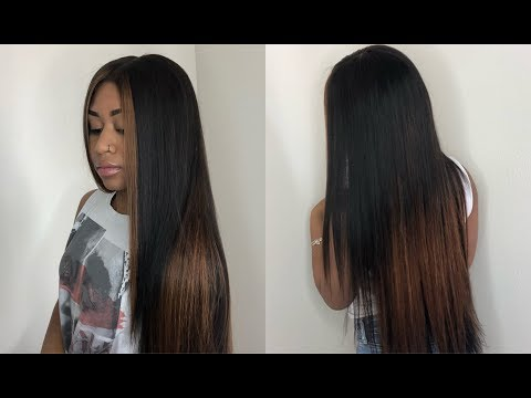 The New Quick Weave Tutorial ft KM BEAUTY HAIR