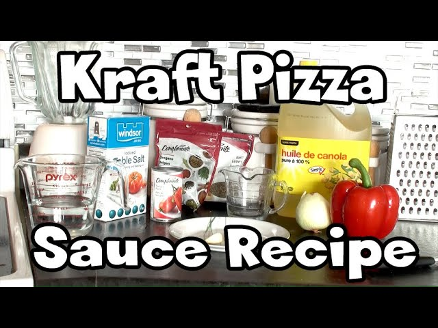 Kraft Pizza Sauce Discontinued Sauce Recipe Youtube