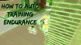[NEW CODES] How To Auto Training Endurance | Shinobi Story | Roblox
