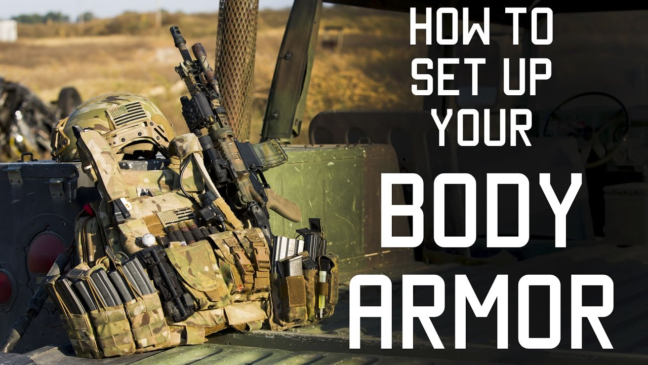 How to set up your body armor | Special Forces Techniques | Tactical ...