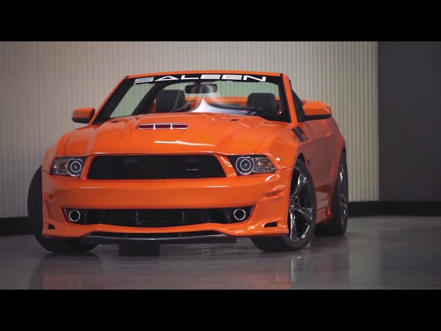 Steve Saleen on the New Saleen 2013 351 V8 Supercharged Mustang