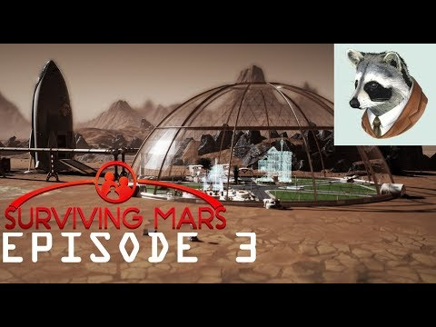 Surviving Mars||THE DOME||Ep. 3