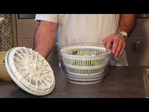 essoreuse lave salade youtube. Black Bedroom Furniture Sets. Home Design Ideas
