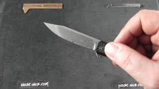 CIVIVI KNIVES CIVC917DS CHRONIC LINERLOCK DAMASCUS STEEL G10//CF FOLDING KNIFE.