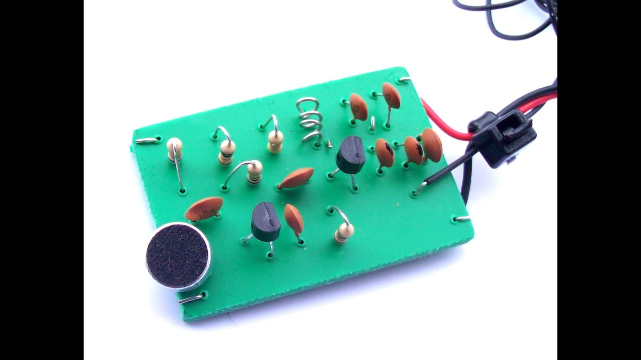 Fm Transmitter Circuit Components Wiring Diagrams Audio Diagram Build Your Own With No Special Parts Needed Youtube Rh Com Digital