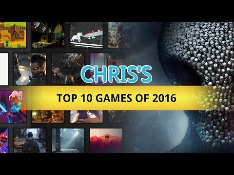 Chris Davis' Top 10 Games of 2016