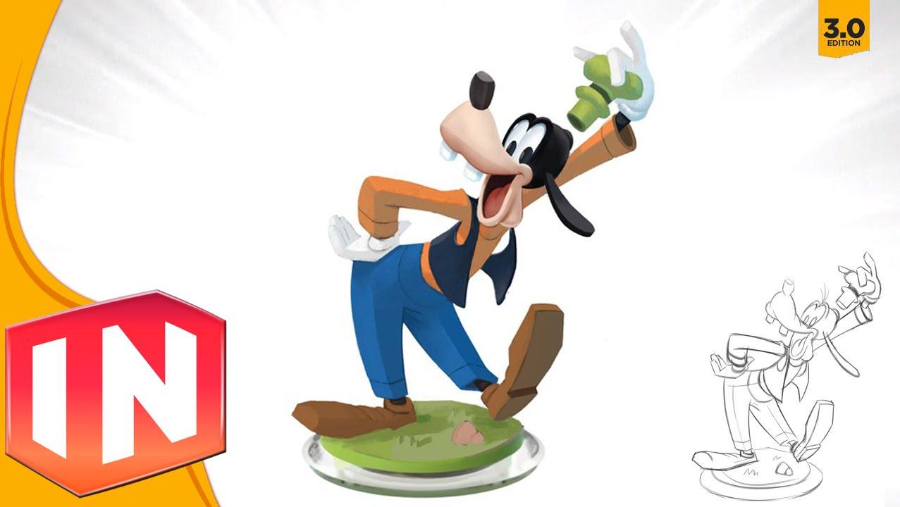 Disney Infinity 3 0 Goofy Design Revealed Exclusive