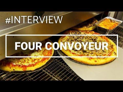 Nouveau Four Convoyeur Moretti Forni Chez Pizza Lusitalia
