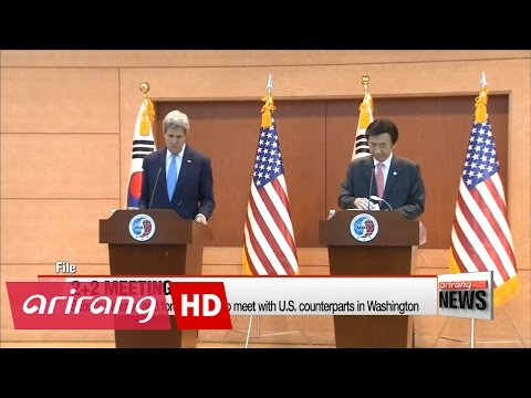 S. Korea's defense and foreign ministers to meet with U.S. counterparts next week