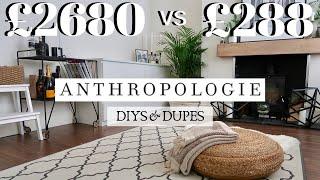 One of Freya Farrington's most viewed videos: 30 ANTHROPOLOGIE HOMEWARE DUPES & DIY HACKS