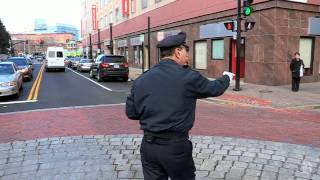 Dancing Cop, still traffic jamming at 64